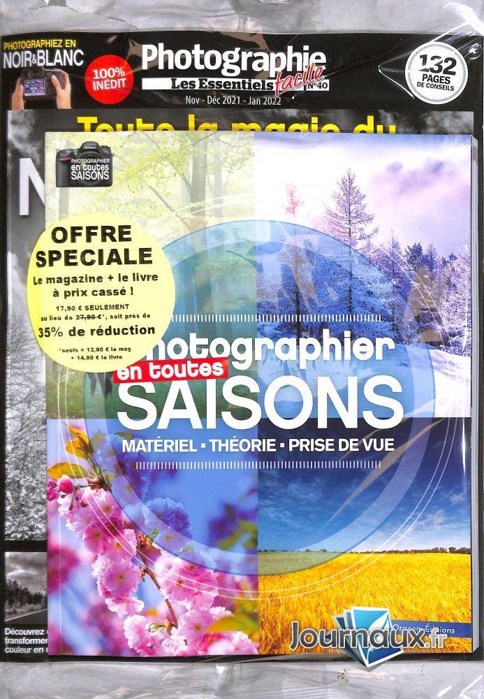 Pack Photographie Facile Les Essentiels + Livre