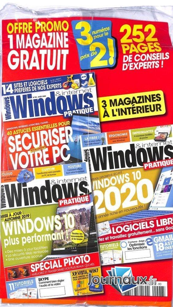 Offre Windows & Internet Pratique + 2ème Revue