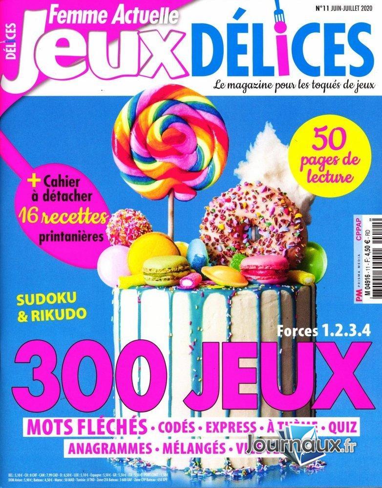 www.journaux.fr - Femme Actuelle Jeux Délices