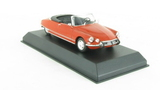 Citroën DS19 Cabriolet 1965 - Corail Red