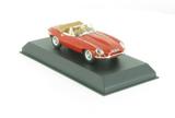 Norev  Jaguar E-type Cabriolet 1961 Carmin Red