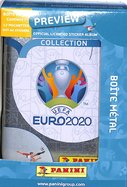 Euro 2020 Panini Boite Métal 12 Pochettes