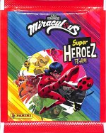Miraculous Super Heroez Team Panini Cards