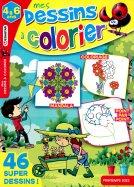 MG Mes dessins à Colorier 4-6 ans