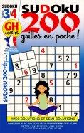 GH Sudoku 200 Grilles en Poche Niv 3-4
