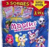 3 Pochettes Magiki