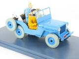 La Jeep Bleue d'Objectif Lune