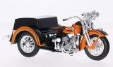 Harley Davidson Servi-Car, orange/noire - 1947