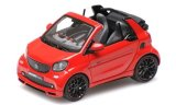 Smart Brabus Ultimate 125 cabriolet, rot - 2017