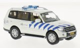 Mitsubishi Pajero, weiss/blau, Politie Amsterdam (NL) - 2013