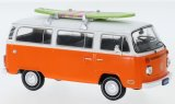 VW T2 Bus, orange/weiss - 1975