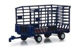 Anhänger Ballentransportwagen, bleu