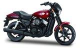 Harley Davidson Street 750, rouge foncé - 2015