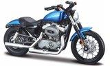 Harley Davidson XL 1200N Nightster, metallic-bleu - 2012