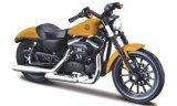 Harley Davidson Sportster Iron 883 , matt-dunkelgelb/mat- noir - 2014