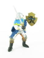 Officier au sabre bleu