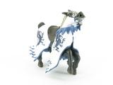 Cheval au dragon bleu