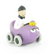 Barbabelle voiture avec François