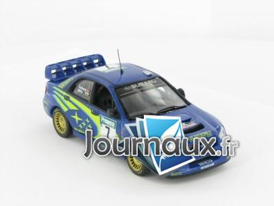 Subaru Impreza WRC, N°7, Rallye Neuseeland