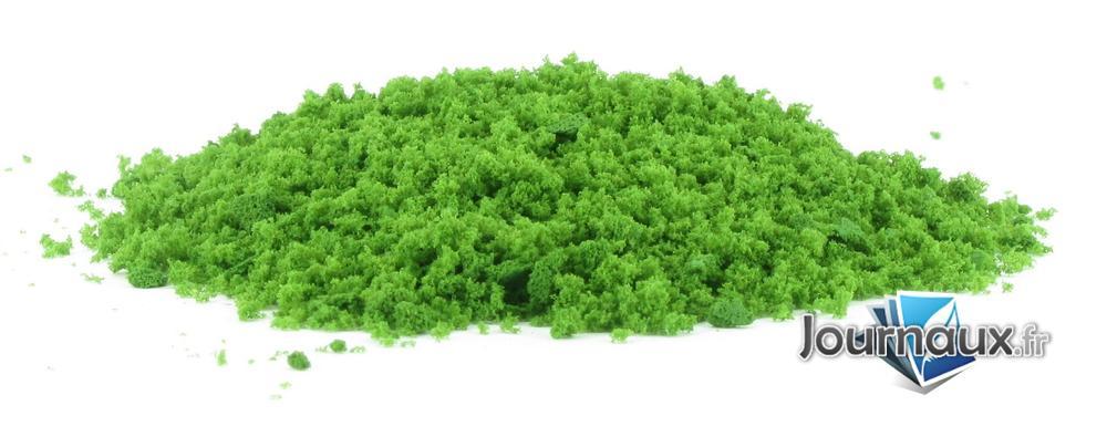 Flocage (feuillage) vert moyen
