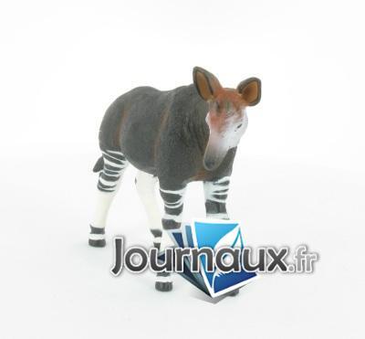 Okapi debout
