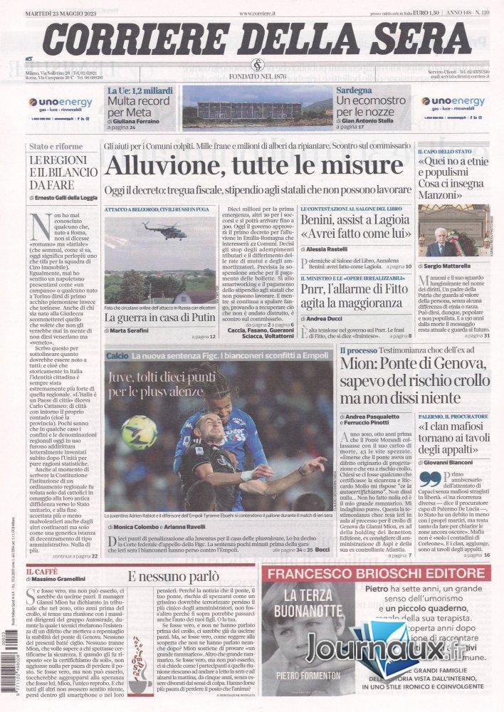 Corriere Della Sera - 24 Mars 2021