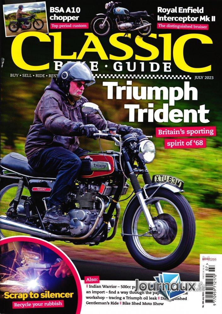magazine moto ancienne  E2035