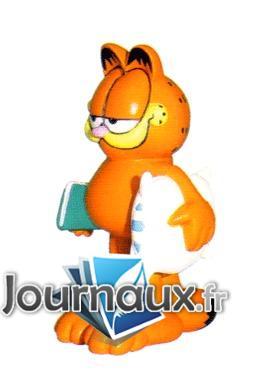 Garfield et son oreiller