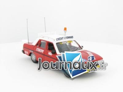 Peugeot 604 de recteur de Course 1986