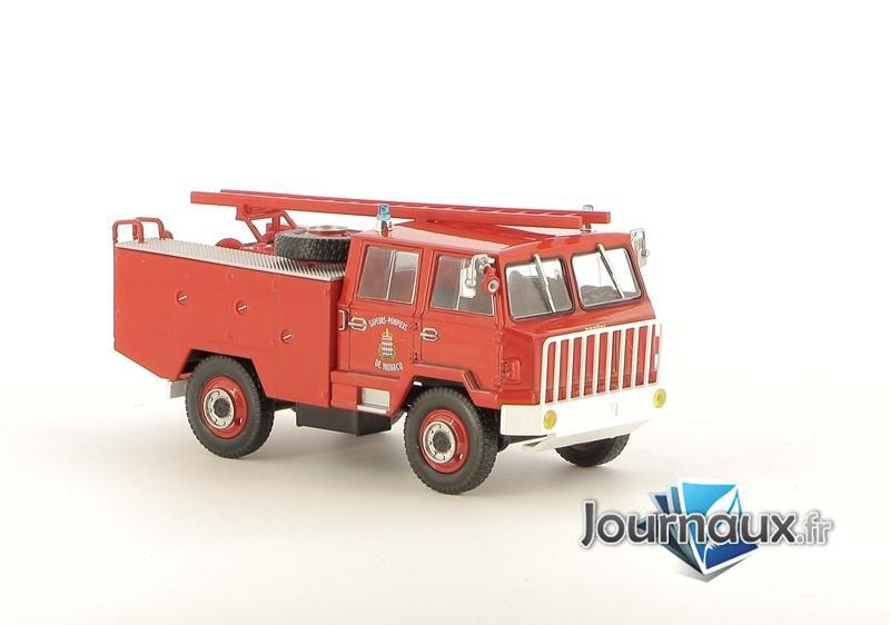 Le Fourgon-Pompe Tonne Léger Berliet FF 4X4 Des Sapeurs-Pompiers De Monaco