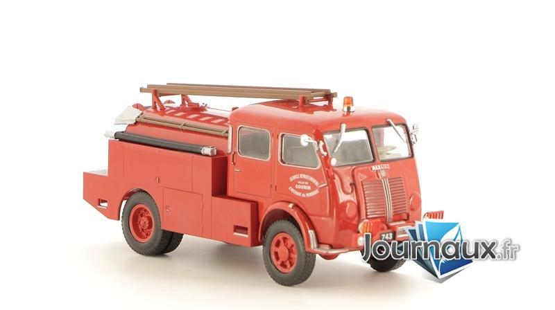 Le Camion-Citerne Lourd Pour Feux De Forêt Berliet GLB 19 4x4 Avec Cabine Double Du Morbihan