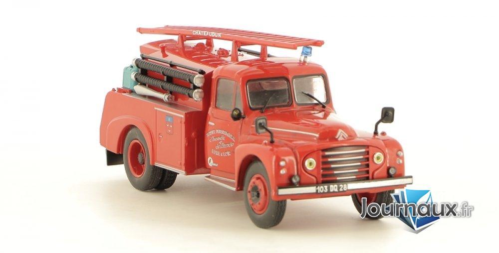 Le Camion-Citerne d'Incendie Drouville-Citroën 46 CD de Châteaudun