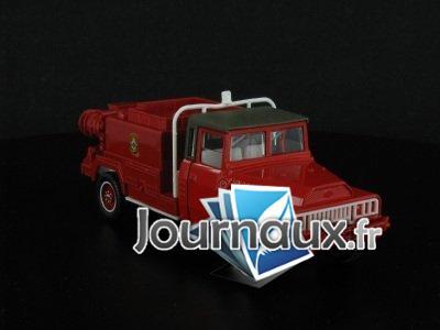 Le camion-citerne moyen pour feux de forêts ACMAT 4X4