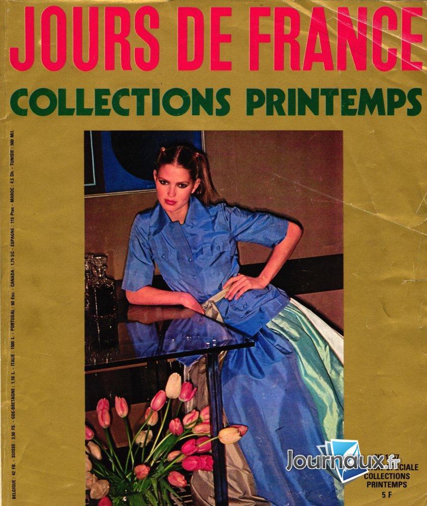 Jours de France Collections Printemps 1977