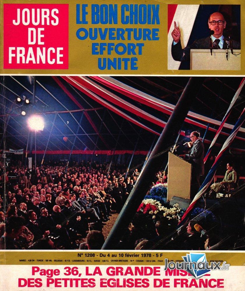 Jours de France du 4 au 10 février 1978