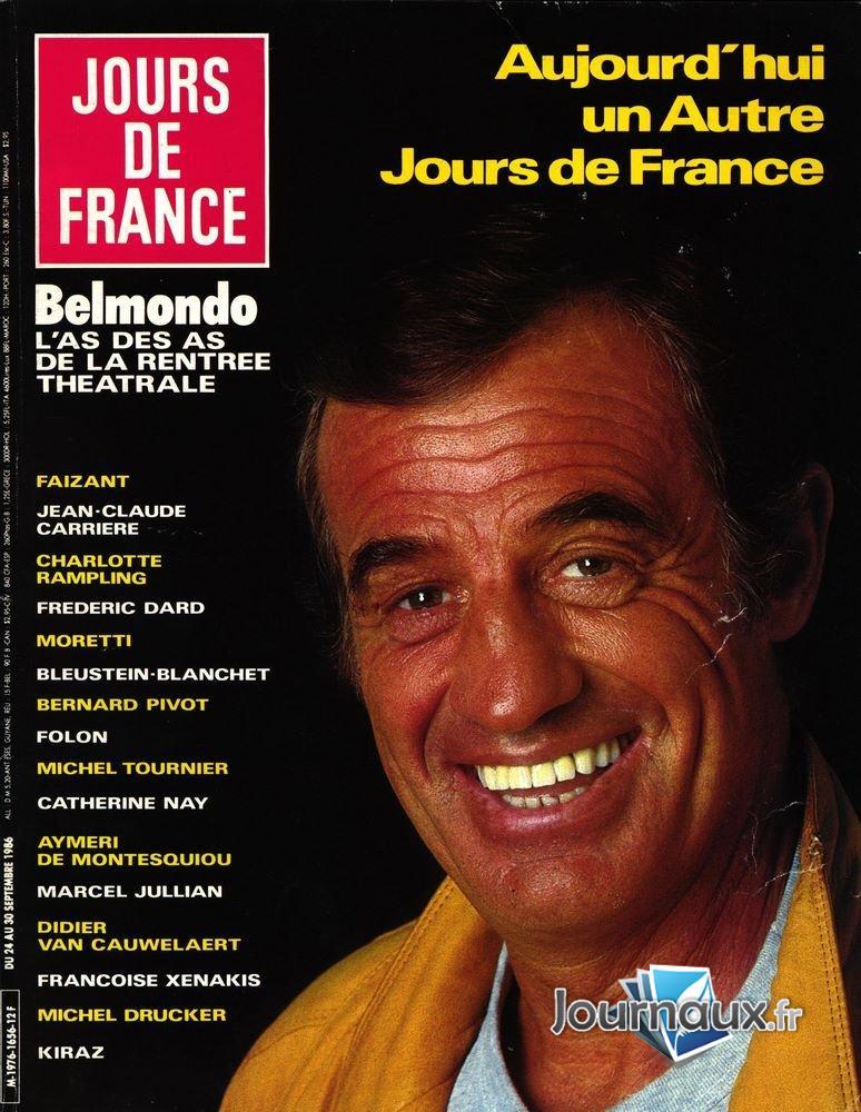Jours de France du 24 au 30 Septembre 1986