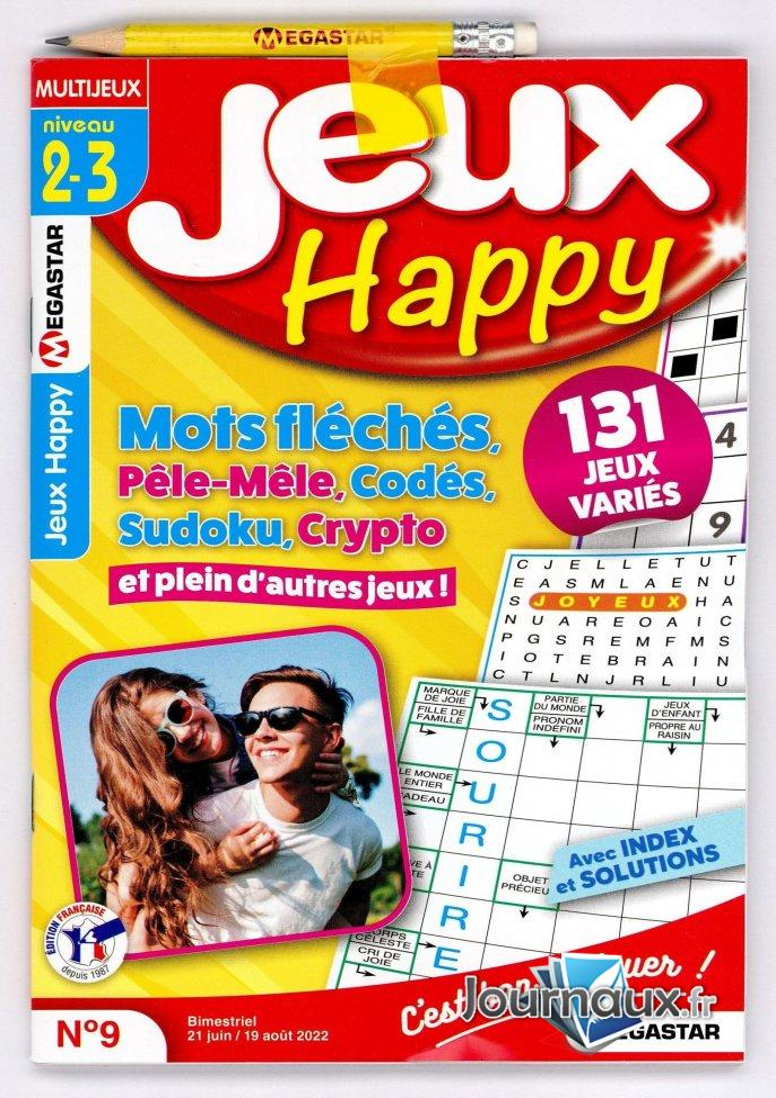 MG Jeux Happy Niv 2-3