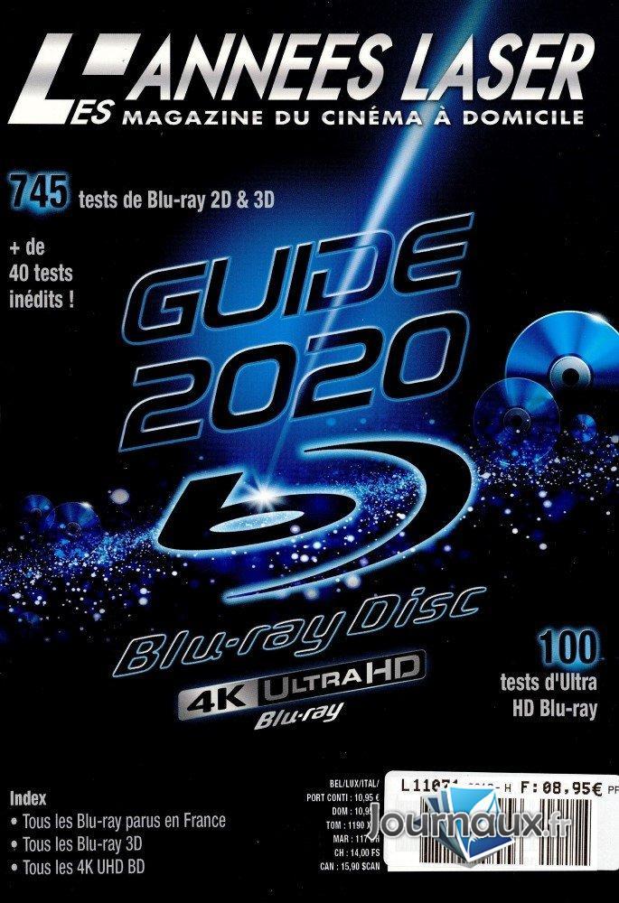 L'Année Laser Guide Blue Ray 2020 (REV)