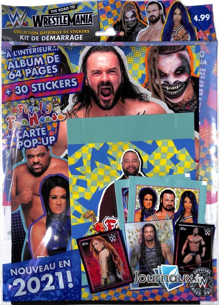 WWE Album 2021 + Stickers