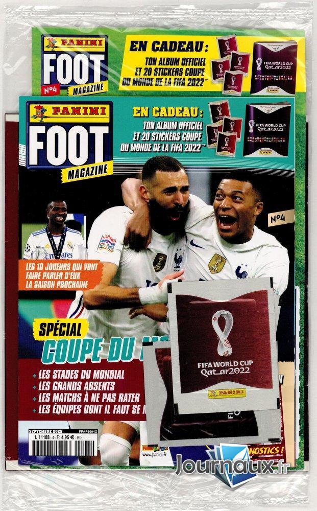 Panini Pack Foot Magazine + Album Ligue 1 + Sticker