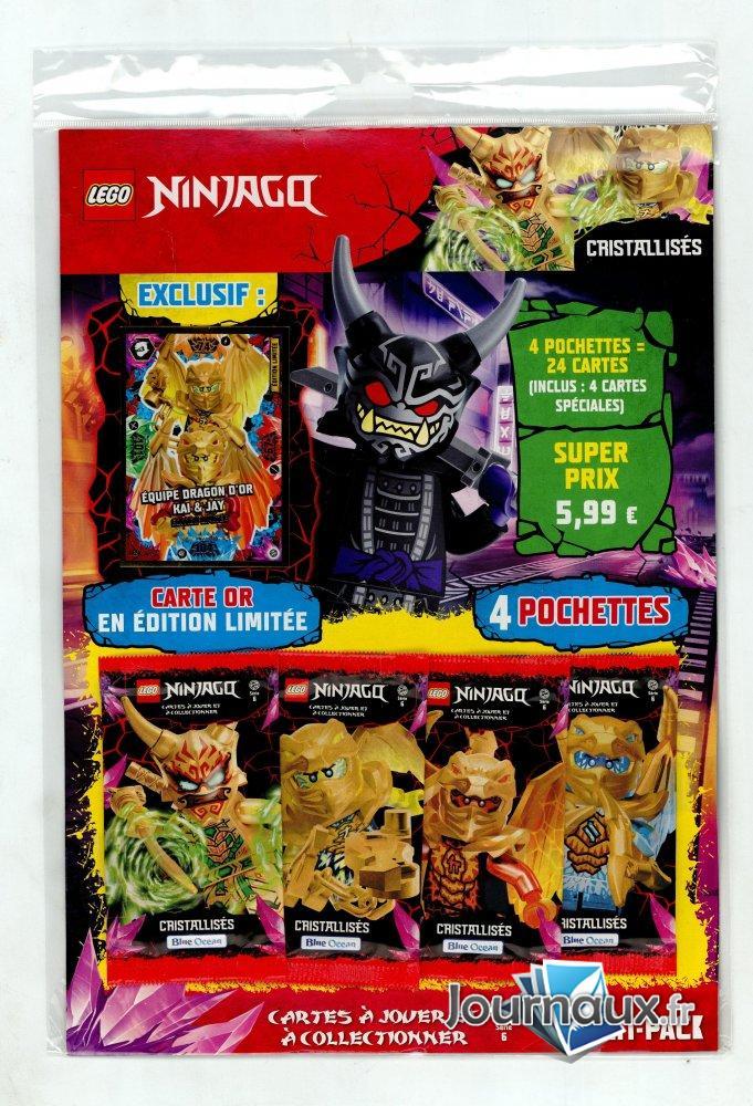 Lego Ninjago Carte à Jouer Multi-Pack