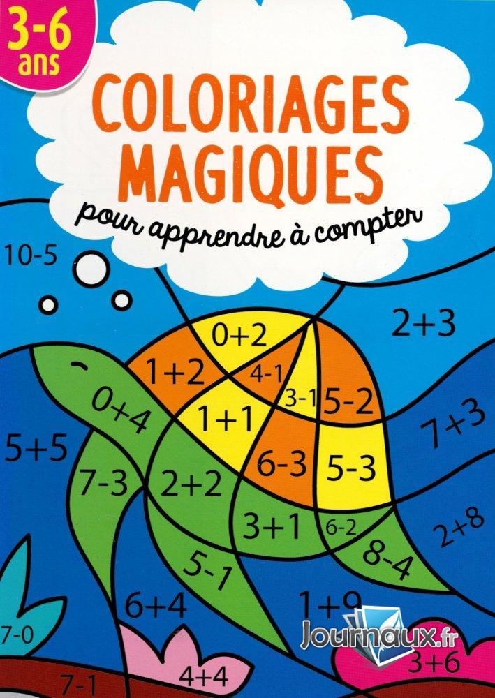 Coloriages Magiques 3-6 ans