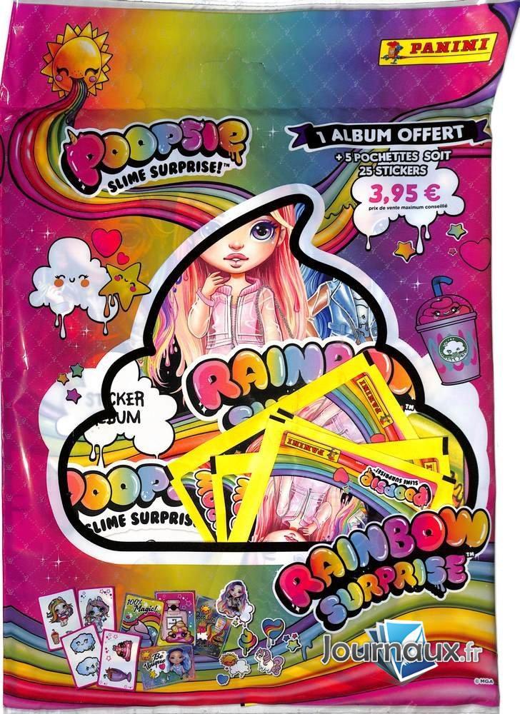 Album Poopsie slime Panini + Pochettes