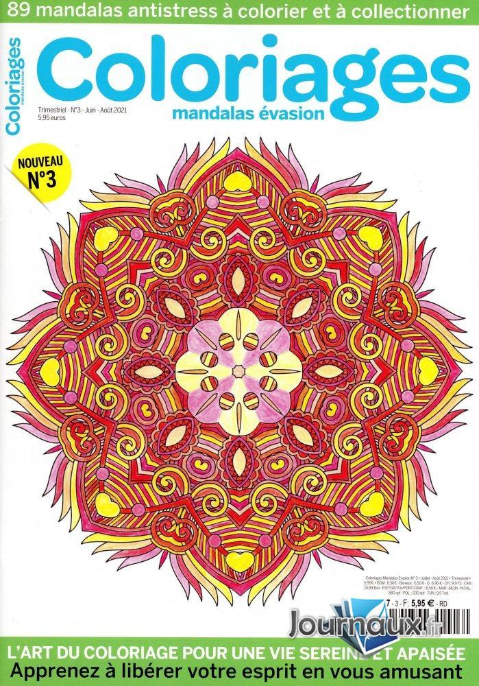 Coloriages Mandalas évasion