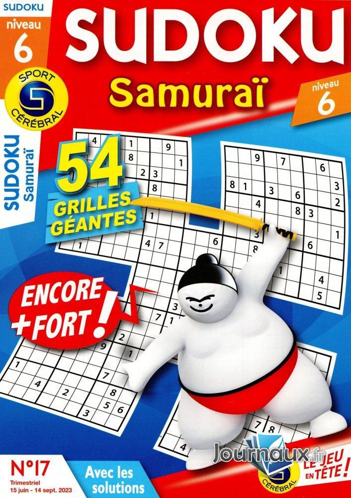 SC Sudoku Samuraï Niv 6