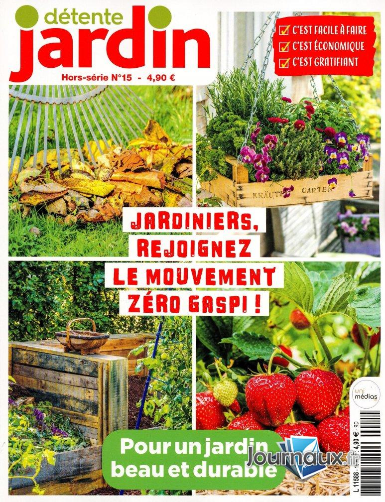 Détente Jardin Hors Série