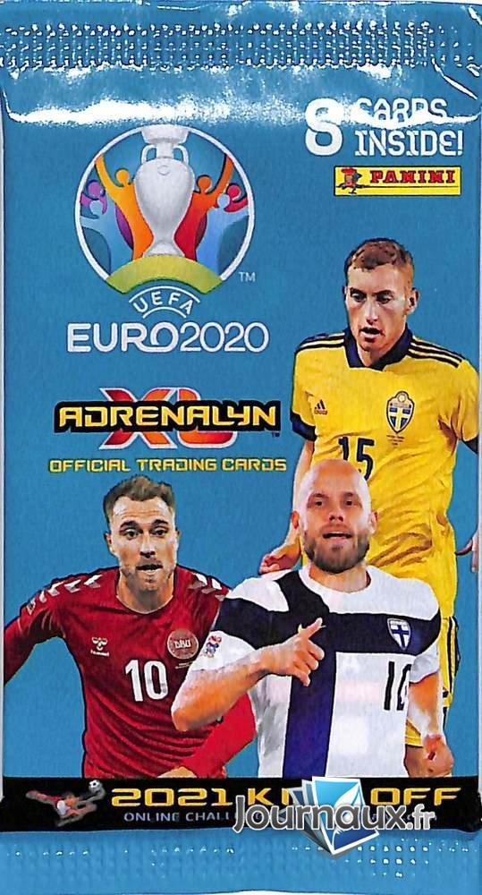 Pochette Carte Panini Uefa Euro 2020