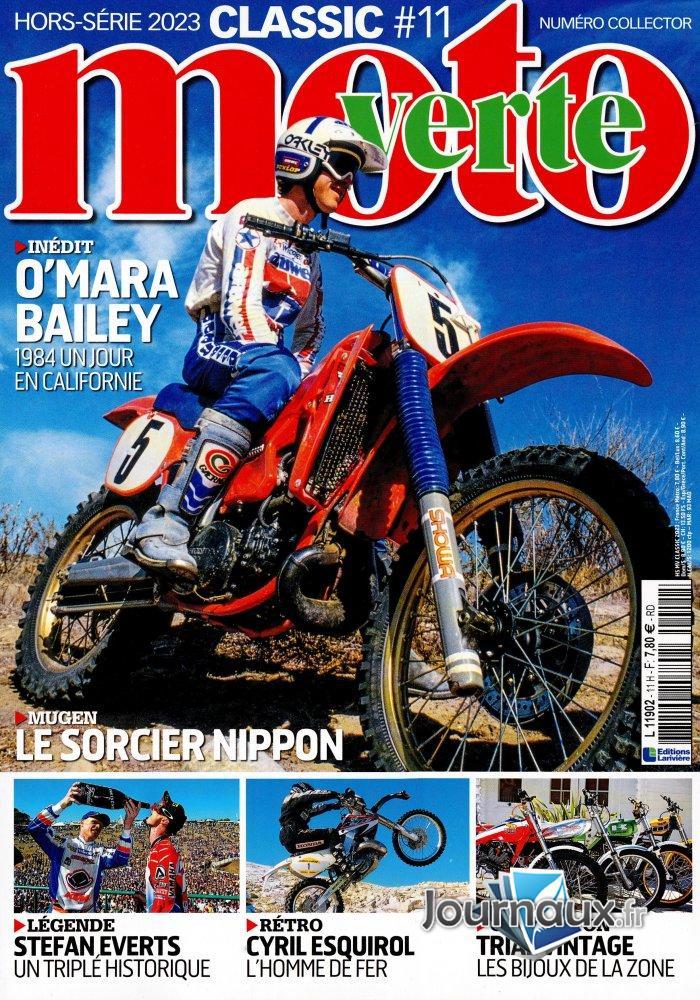 Moto Verte Numéro Collector Hors-Série