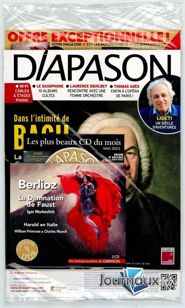 Diapason + CD
