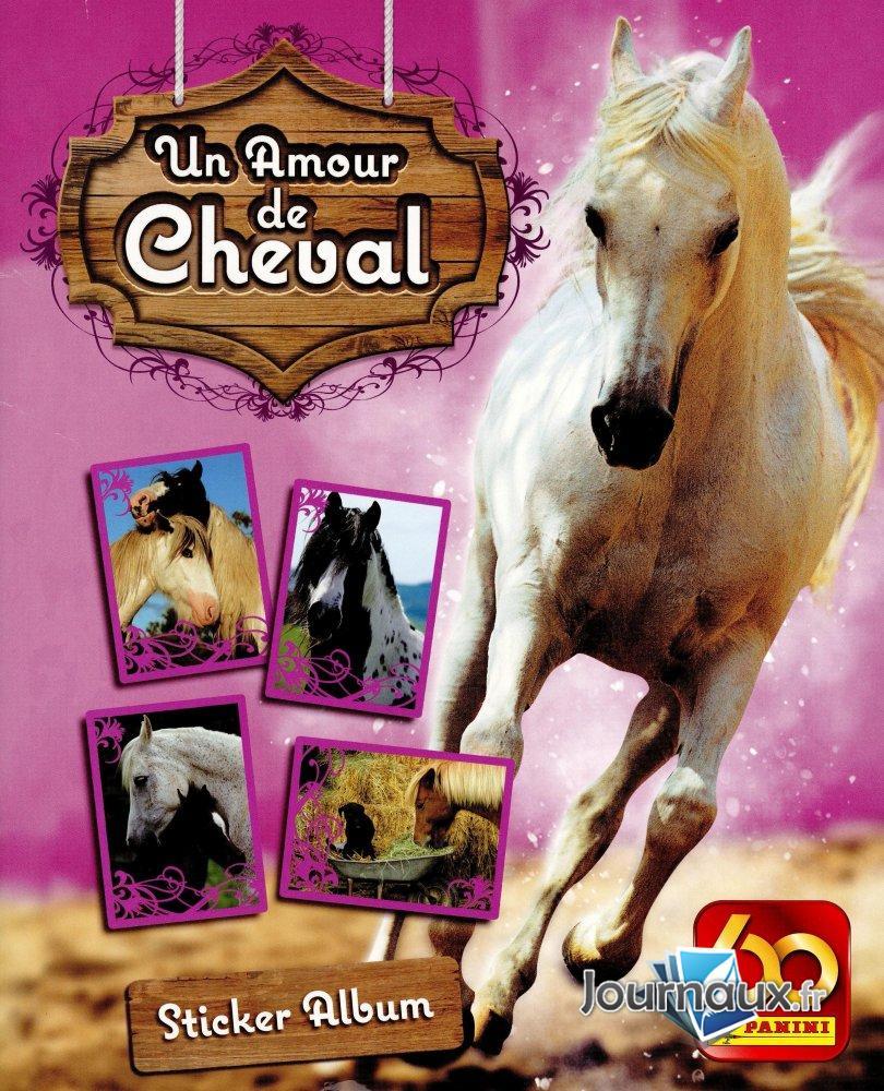 Un Amour de Cheval Panini Album